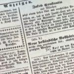Historische Anzeigen aus München