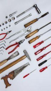 werkzeug auswahl